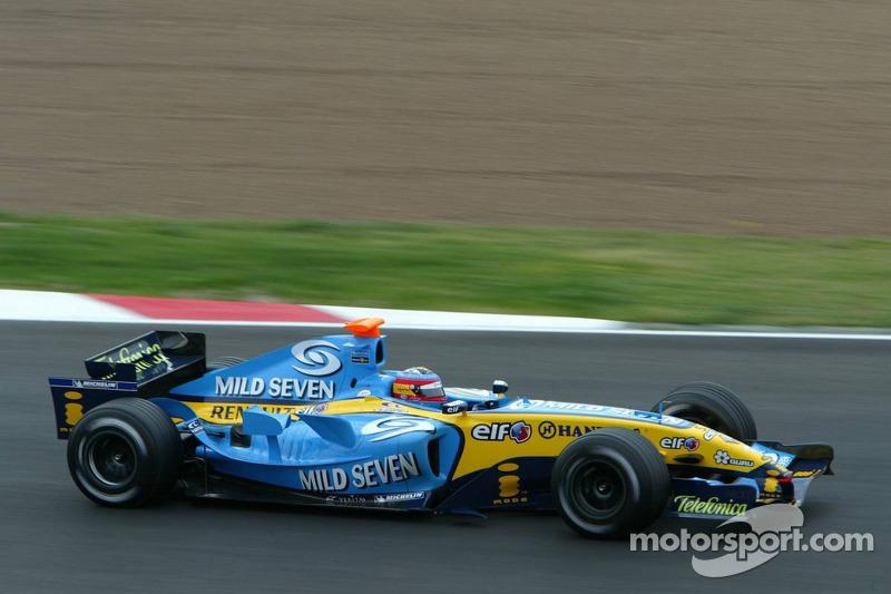 2005: Renault R25