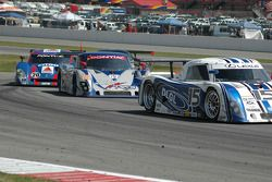 #15 CB Motorsports Lexus Riley: Chris Bingham, Hugo Guénette, #67 Krohn Racing/ TRG Pontiac Riley: Tracy Krohn, Nic Jonsson