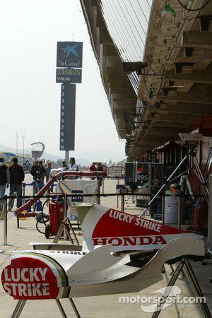Le stand BAR-Honda
