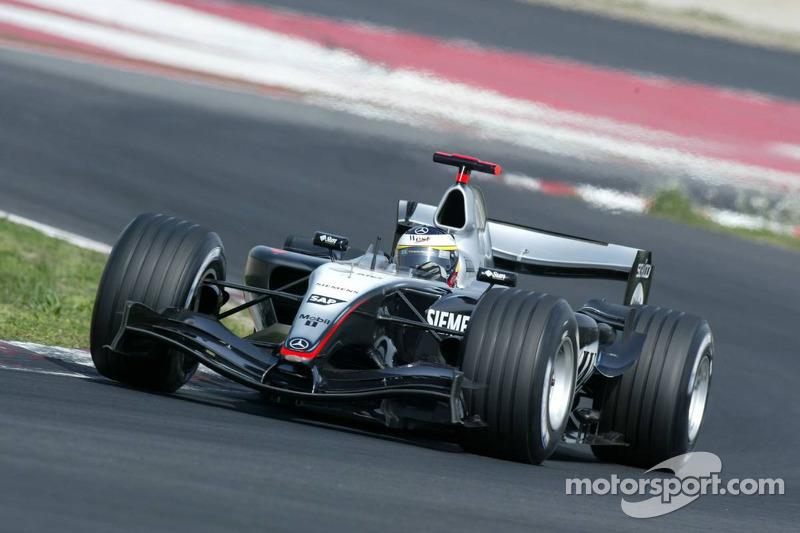 2005 год. Педро де ла Роса. 1 гонка в McLaren