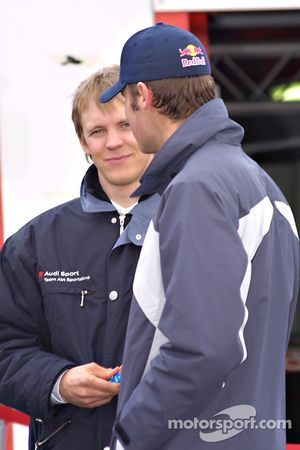Mattias Ekström and Martin Tomczyk