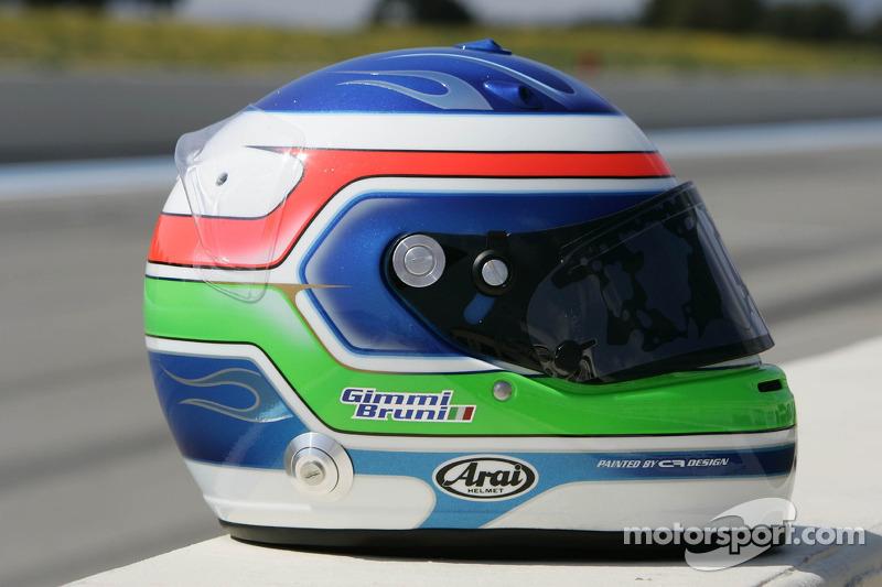 Helmet of Gianmaria Bruni