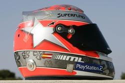 Helmet of Mathias Lauda