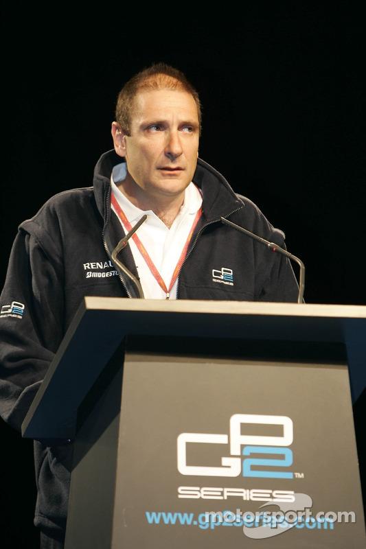 GP2 organizer Bruno Michel