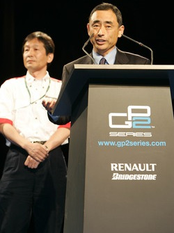 Bridgestone's Mr Yasukawa