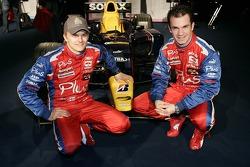 Heikki Kovalainen and Nicolas Lapierre