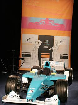DPR GP2 car