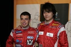 Ernesto Viso and Hiroki Yoshimoto