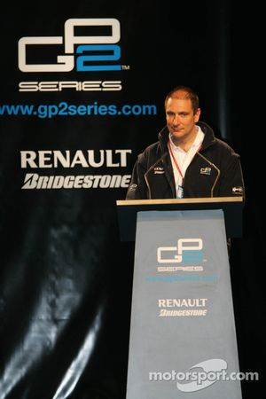 GP2 organizer Bruno Michel