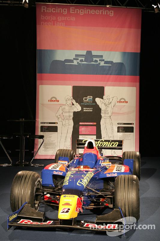 Racing Engineering GP2 car