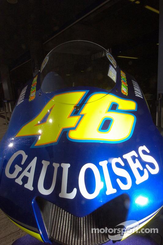 Startnummer 46 von Valentino Rossi