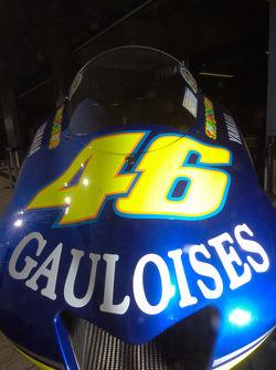 La Yahama M1 de Valentino Rossi
