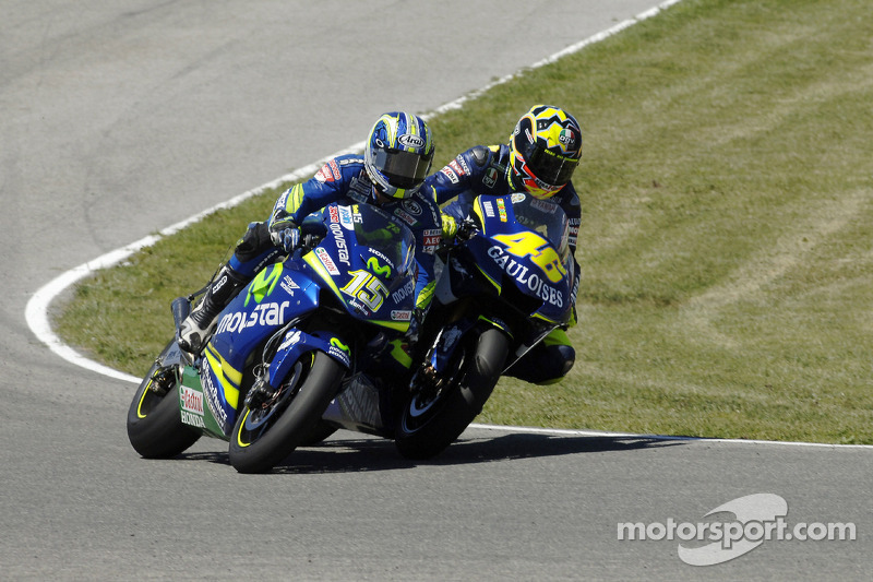 Valentino Rossi et Sete Gibernau