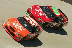 Tony Stewart et Jeremy Mayfield
