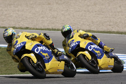 Alex Barros, Pons Honda; Troy Bayliss, Pons Honda