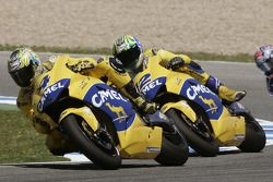 Troy Bayliss et Alex Barros
