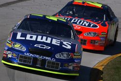 Jimmie Johnson et Jeff Gordon