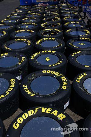 Kyle Busch's tires