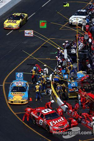 Dale Earnhardt Jr., Jeff Green, Hermie Sadler, Ryan Newman