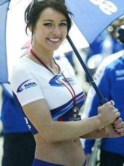 A lovely Suzuki grid girl