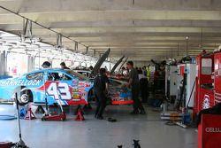 Busch Garage before Qualifying