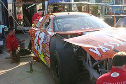 Shawna Robinson's damaged car
