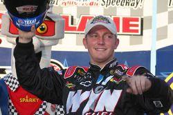 Pole winner Shane Hmiel