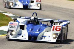 #16 Dyson Racing Team Lola EX257 AER: James Weaver, Butch Leitzinger on its pole lap