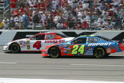 Mike Wallace and Jeff Gordon