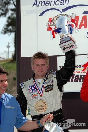 P2 podium: Ben Devlin