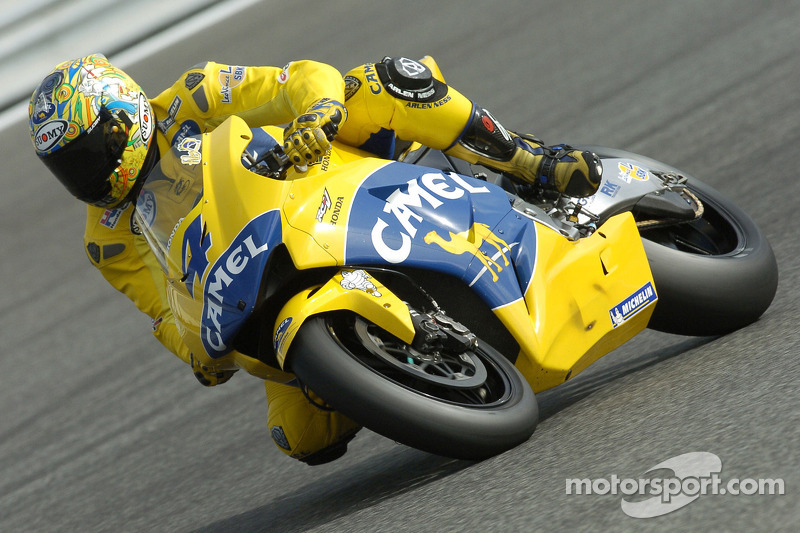 Alex Barros no GP de Portugal de 2005 da MotoGP