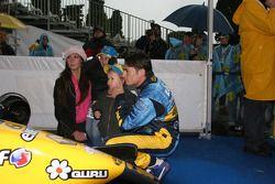 Giancarlo Fisichella ve konukları