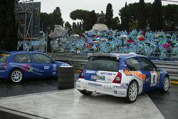 Renault Clio demo run