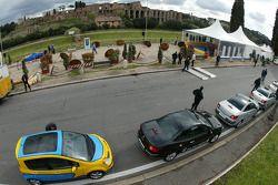 Renault Cars, display