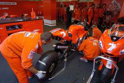 Ducati Corse pit box