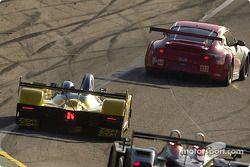 #44 Flying Lizard Motorsports Porsche 911 GT3 RSR: Lonnie Pechnik, Seth Neiman, #8 B-K Motorsports Courage Mazda: Jamie Bach, Guy Cosmo