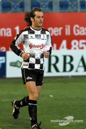 Charity football match: Jarno Trulli