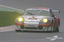 #96 IN2 Racing Porsche 996 GT3 RSR: Juan Barazi, Michael Vergers