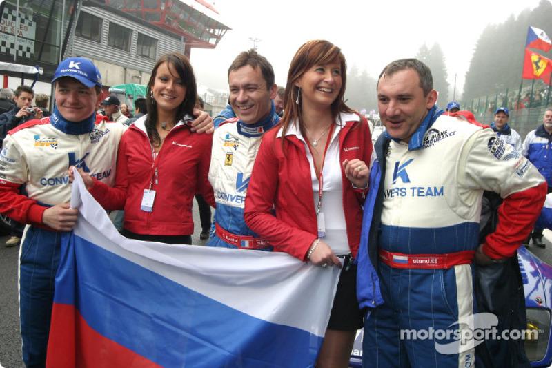 Николай Фоменко, Алексей Васильев и Кристоф Бушю