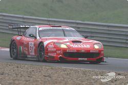 #51 BMS Scuderia Italia Ferrari 550M: Christian Pescatori, Michele Bartyan, Toni Seiler
