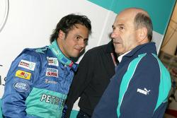 Felipe Massa and Peter Sauber