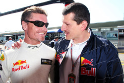 David Coulthard et Guenther Steiner
