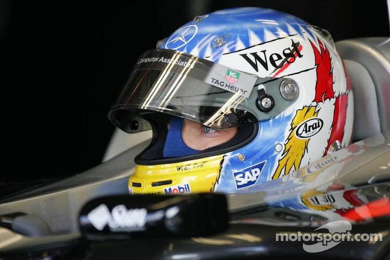 2005 год. Александр Вурц. 1 гонка в McLaren