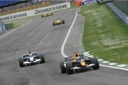 David Coulthard et Felipe Massa