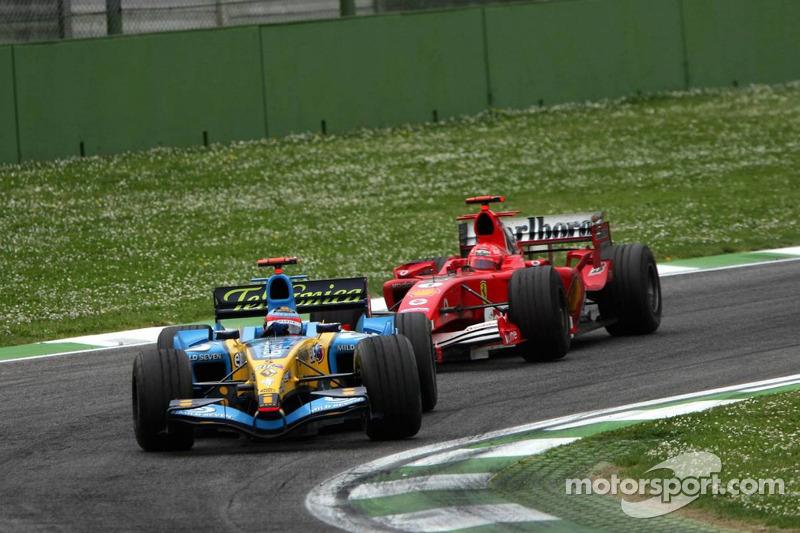 Гран При Сан-Марино-2005: выигранная дуэль у Михаэля Шумахера