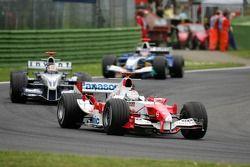 Jarno Trulli et Mark Webber