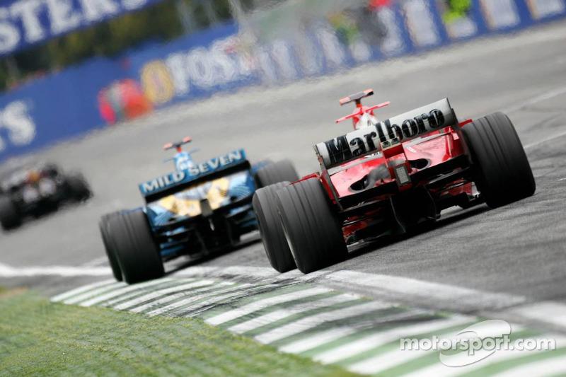 Fernando Alonso e Michael Schumacher
