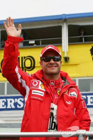 Desfile de pilotos: Rubens Barrichello