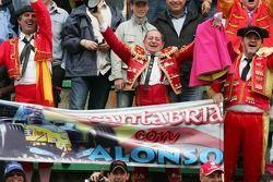 Fans von Fernando Alonso