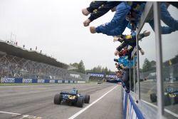 Le vainqueur Fernando Alonso